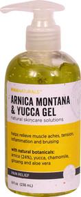 Mikanaturals Pain Relief Arnica Montana & Yucca Gel - 8 fl oz