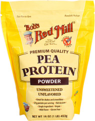 Bobs Red Mill Pea Protein Powder Unsweetened Unflavored - 16 oz
