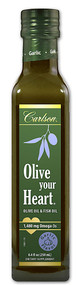 Carlson Olive Your Heart Olive Oil Garlic - 8.4 fl oz
