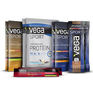 Vega Sport Protein and Supplements Variety Pack - 10 Pack