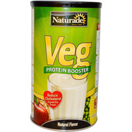 Naturade, VEG, Protein Booster, Natural Flavor, 15 oz (426 g)