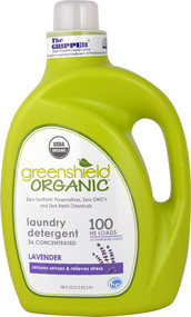 GreenShield Organic Laundry Detergent 3x Concentrated Lavender - 100 fl oz