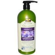 Avalon Organics, Shampoo, Nourishing Lavender, 32 fl oz (946 ml)