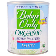 Natures One, Babys Only Organic, Toddler Formula Whey Protein, Dairy, 12.7 oz (360 g)