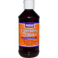 Now Foods, Elderberry Liquid, 8 fl oz (237 ml)
