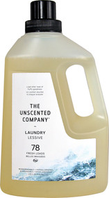 The Unscented Company Laundry Detergent Unscented 78 Fresh Loads - 65.9 fl oz