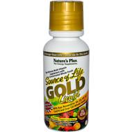 Nature's Plus, Source of Life, Gold Liquid, Delicious Tropical Fruit Flavor, 8 fl oz (236 ml)