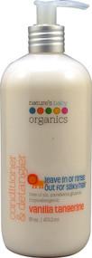 Natures Baby Organics, Conditioner & Detangler, Vanilla Tangerine, 16 fl oz (473.2 ml)