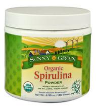 Sunny Green Organic Spirulina Powder -- 6.35 oz