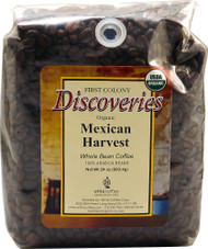 First Colony, Discoveries Organic Whole Bean Coffee,  Mexican Harvest - 24 oz