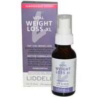 Liddell Homeopathic Weight Loss XL -- 1 fl oz