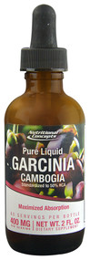 Nutritional Concepts Pure Liquid Garcinia Cambogia - 400 mg - 2 fl oz