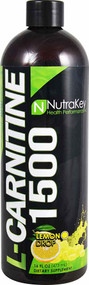 NutraKey L-Carnitine 1500 Lemon Drop - 16 fl oz