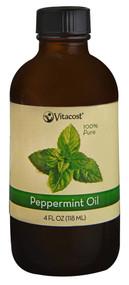 Vitaco Essential Oils 100% Pure Peppermint -- 4 fl oz (118 mL)