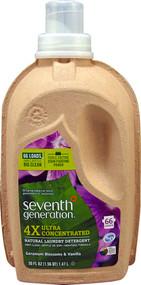 Seventh Generation, Natural Laundry Detergent 4X Geranium Blossoms & Vanilla - 50 fl oz