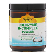 Country Life, Coenzyme B-Complex Powder, Coconut, 1.95 oz (55 g) (Discontinued Item)