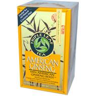 Triple Leaf Tea American Ginseng -- 20 Tea Bags