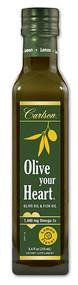 Carlson Olive Your Heart Olive Oil Lemon - 8.4 fl oz