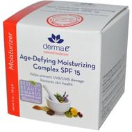 Derma E, Age-Defying Moisturizing Complex SPF 15, 2 oz (56 g)