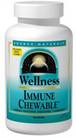 Source Naturals Wellness Immune Chewable Berry -- 60 Chewable Wafers