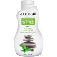 ATTITUDE, Foaming Hand Soap, Refill, Green Apple & Basil, 35.2 fl oz (1.04 l)