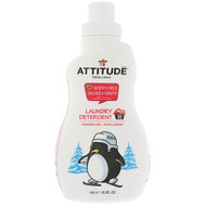 ATTITUDE, Little Ones, Laundry Detergent, Fragrance-Free, 35.5 fl oz