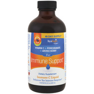 Hyalogic , Immune Support, Immune C Liquid, Berry Flavored Liquid, 8 fl oz (236 ml)