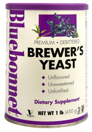 Bluebonnet Nutrition Super Earth Brewers Yeast Powder Non-Bitter Unflavored -- 1 lb