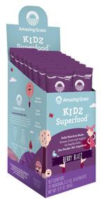 Amazing Grass Kidz SuperFood Drink Powder Wild Berry - 15 Packets