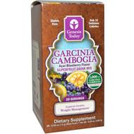 Genesis Today Garcinia Cambogia Superfruit Drink Mix Acai Blueberry - 20 Packets