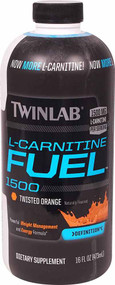 Twinlab L-Carnitine Fuel 1500 Twisted Orange - 16 fl oz