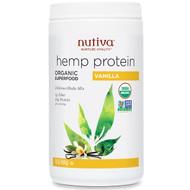 Nutiva Organic Hemp Protein Shake Mix Vanilla -- 16 oz