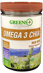 Greens Plus Organics Omega-3 Chia Seeds - 1 lb