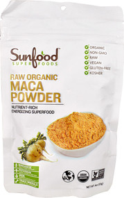 SunFood Raw Organic Maca Powder - 4 oz