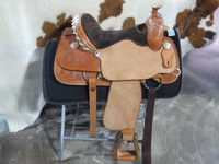 FUTURITY ROPING SADDLE, Seat 15""