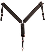 POLY WEB BREAST COLLAR BROWN