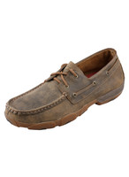 TWISTED X MENS CASUAL DRIVING MOC