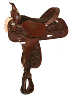HIGH HORSE MINERAL WELLS TRAIL SADDLE - SEAT 16""
