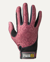 Noble Outfitters Perfect Fit Glove - Wine Paisley