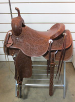 FUTURITY CUTTING SADDLE - SEAT 16 1/2""