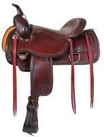 "CIRCLE Y ""TOPEKA"" FLEX2® TRAIL SADDLE - SEAT 17"""