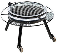"30"" FIRE PIT W/GRILL TOP"