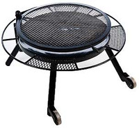 "36"" FIRE PIT W/GRILL TOP"