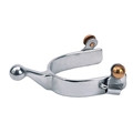Youth Humane Nickel Plated Spurs