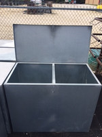 2 COMPARTMENT FEED BIN