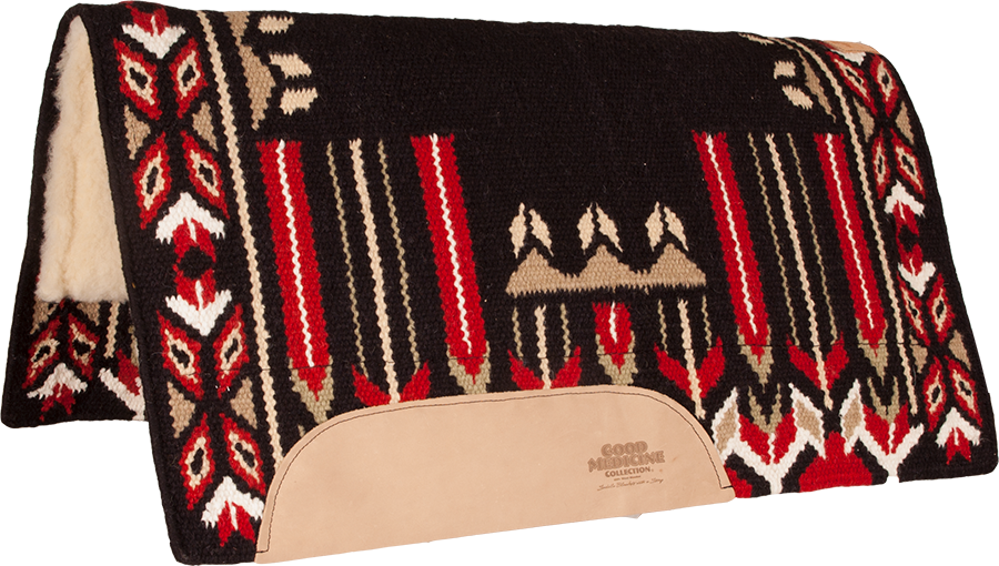 "GOOD MEDICINE ""GLORY BOUND"" SADDLE PADS - 1236 DA"