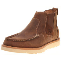 MEN'S TWISTED X OILED SADDLE PULL-ON WEDGE - FREE SHIPPING