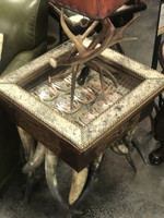 SHADOWBOX SIDE TABLE