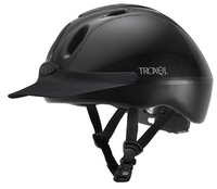 TROXEL BLACK SPIRIT1 RIDING HELMET