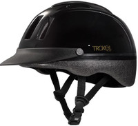 TROXEL BLACK SPORT RIDING HELMET